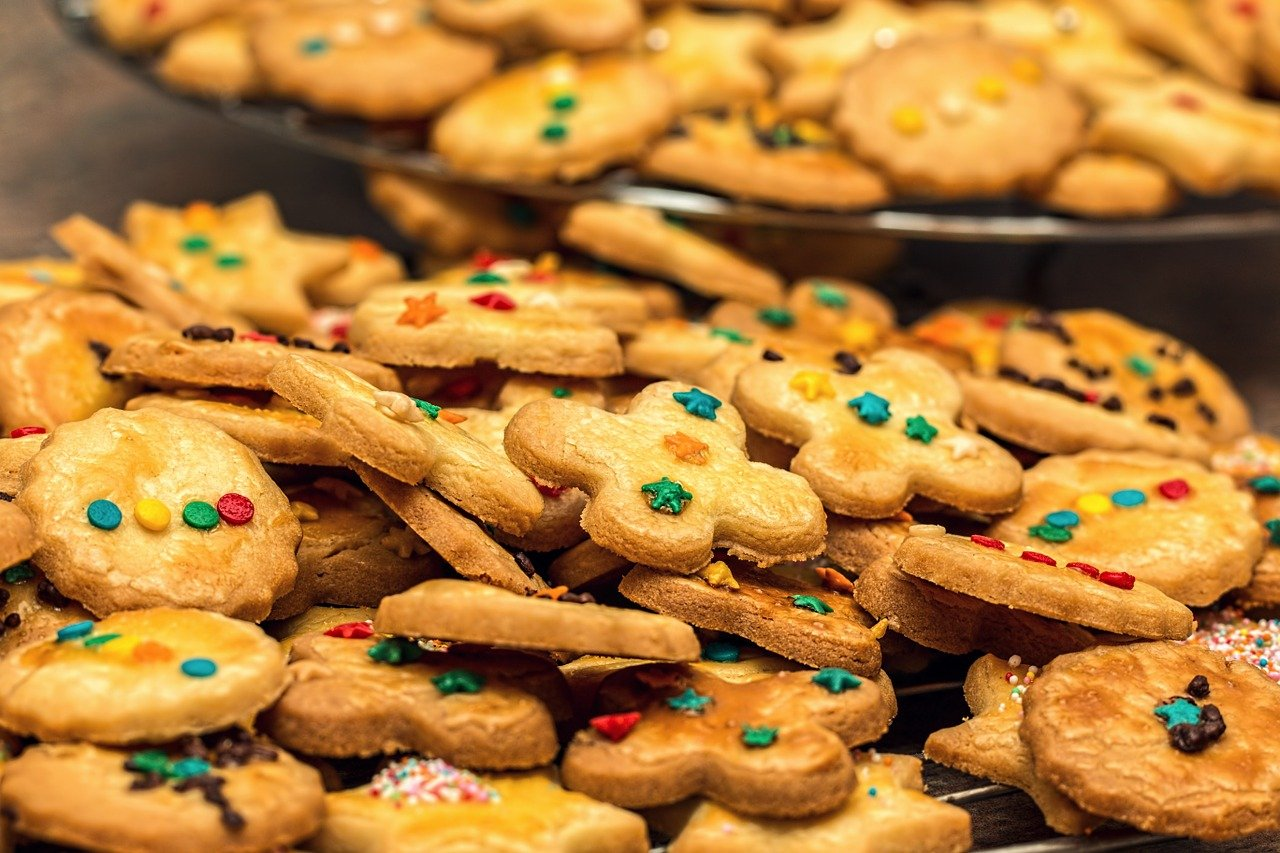 christmas cookies, christmas biscuits, biscuit